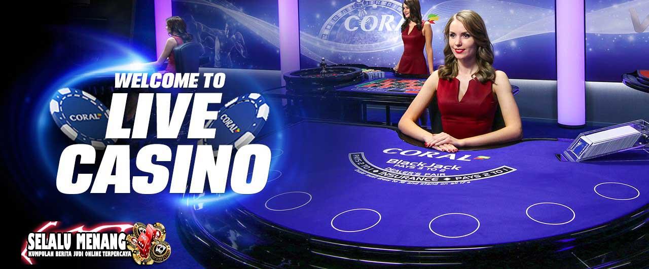 judi live casino online menjadi favorit bettor